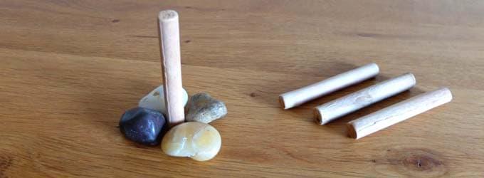 石と木で表現する|ピクチャーズ(Pictures)