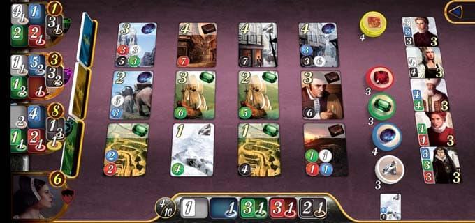 ゲーム画面|宝石の煌きのアプリ版
