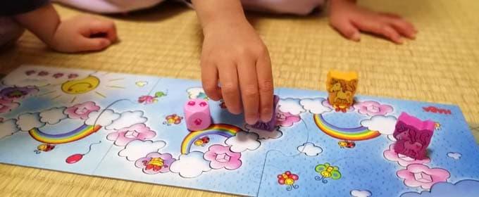 3歳が遊んでいる写真|雲の上のユニコーン