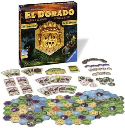 拡張1弾『エルドラド:英雄と悪魔(The Quest for El Dorado: Heroes & Hexes)』