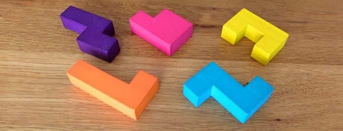 5つのブロック|カタミノ(Katamino)