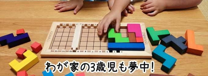 3歳から遊べる|カタミノ(Katamino)