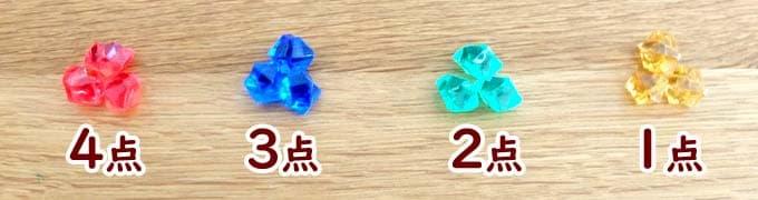 宝石の点数|ウボンゴ3D