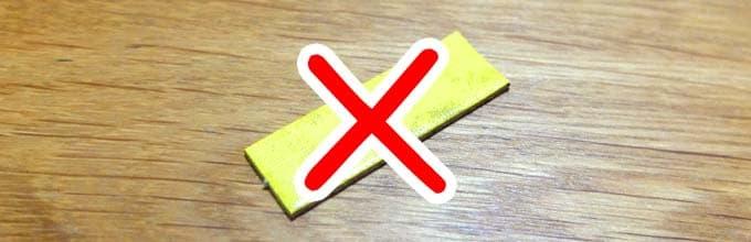 黄色のピースを取り除く|ウボンゴミニ