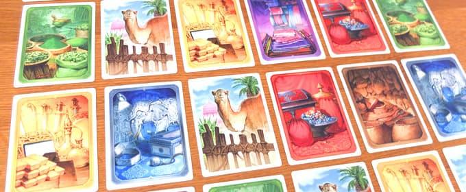 カードの画像|ジャイプル ボードゲーム