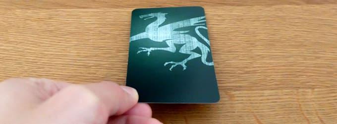 カード1枚を伏せておく|オリフラム