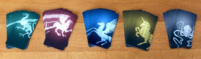 5色のカード|オリフラム