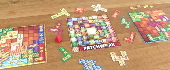 パッチワーク:冬の贈り物のゲーム画像