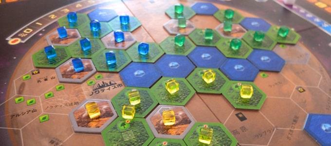 テラフォーミングマーズのゲーム画像